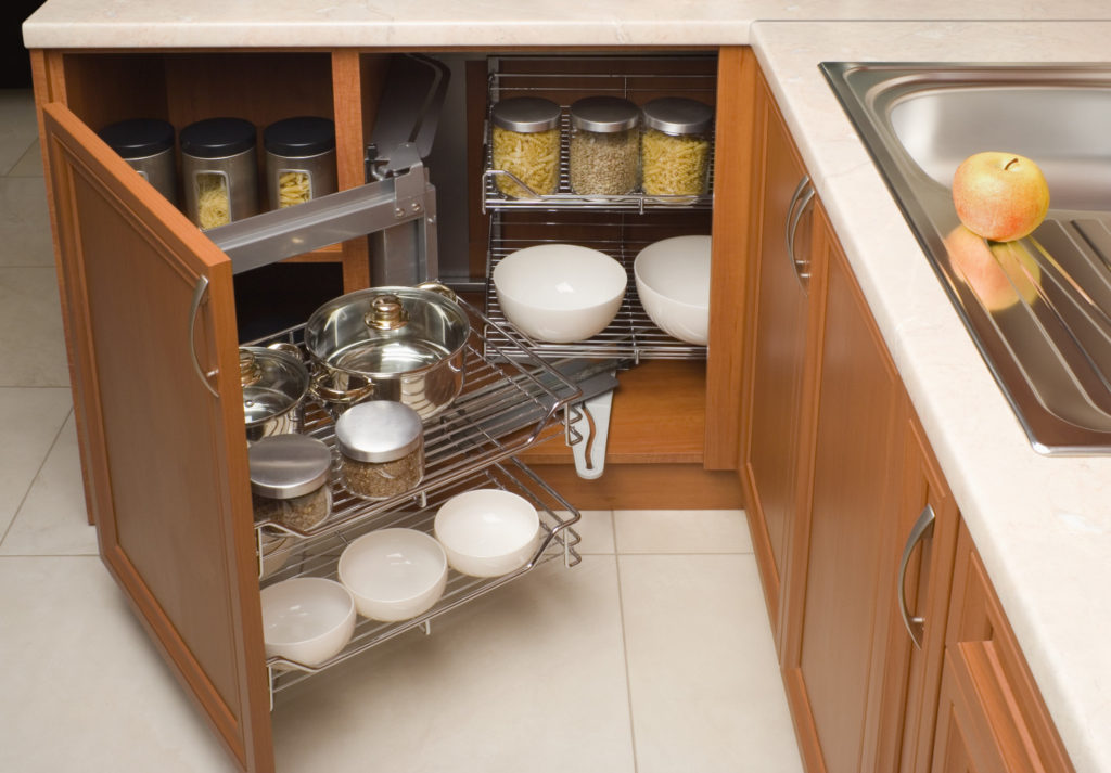 corner kitchen cabinet storage