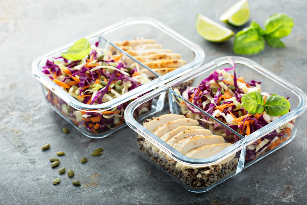 snack containers with dividers